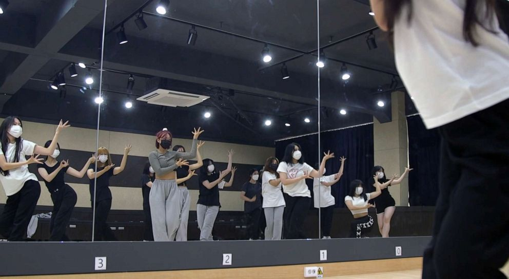 PHOTO: High School of Korean Pop and Performing Arts is the only high school in South Korea that specializes in teaching all-things K-pop in Chungnam, South Korea, June 22, 2021.