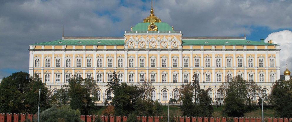 PHOTO: The Great Kremlin Palace in Moscow is pictured in this undated file photo.