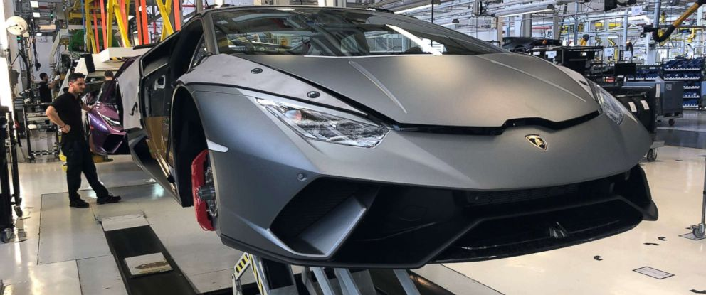 Inside Lamborghini S State Of The Art Factory That Turns Steel Into