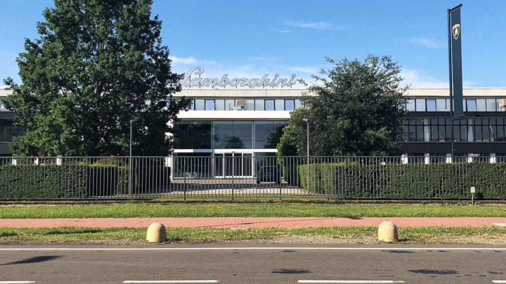 Lamborghini's global headquarters in Sant'Agata Bolognese, Italy.