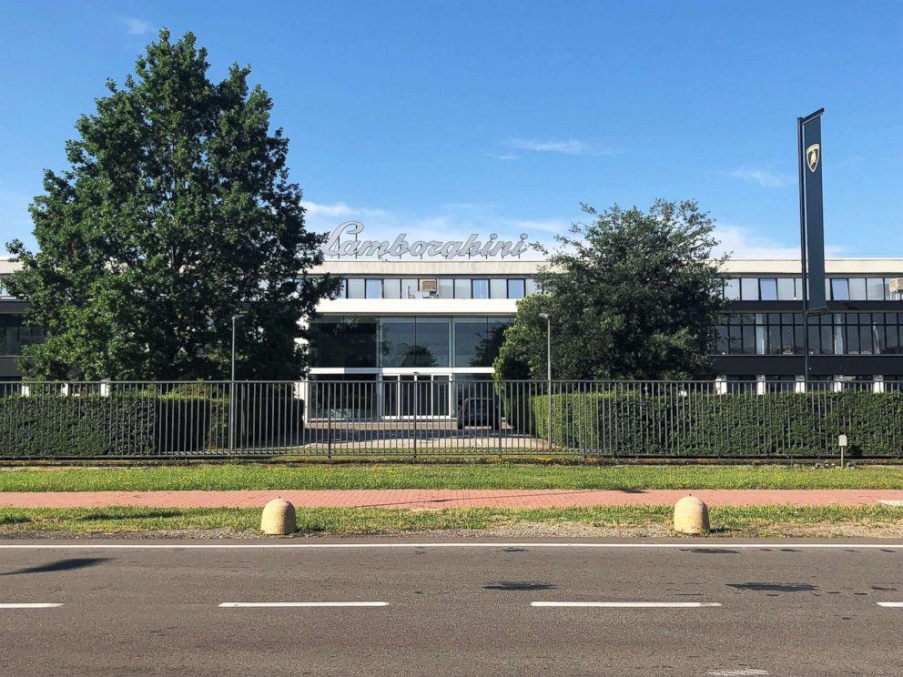 PHOTO: Lamborghinis global headquarters in SantAgata Bolognese, Italy.