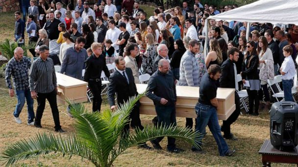 Funerals set to begin for 9 members of American family slain in Mexico