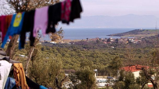 'I feel like my life is empty:' Refugees suffer from mental illness on Greek islands