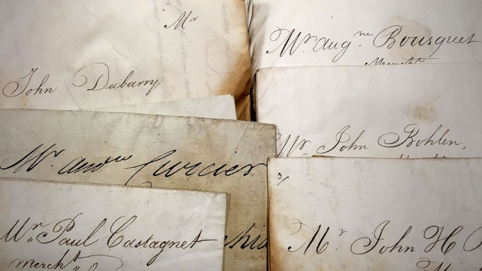 """The National Archives of the United Kingdom and the University of Oldenburg have partnered in a 20-year project to digitize and catalogue about 160,000 undelivered letters known as the """"Prize Papers."""""""