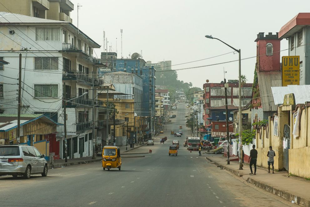 PHOTO: An undated photo of Monrovia, Liberia.