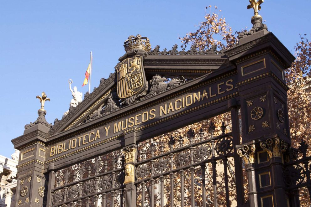 PHOTO: The National Library of Spain was originally founded by King Philip V in 1712 as the Palace Public Library.