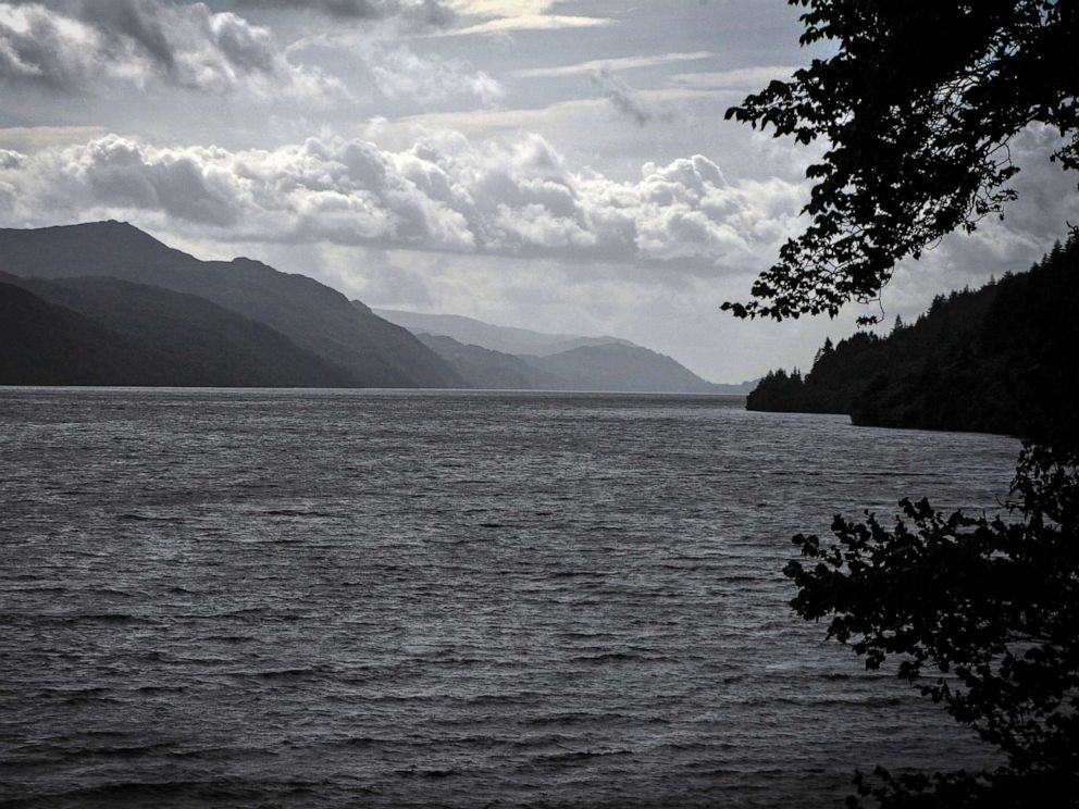 PHOTO: Clouds cover the sky above Loch Ness in Drumnadrochit, Scotland, on Sept. 5, 2019.