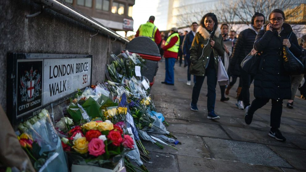 Dozens mourn victims of London Bridge terror attack thumbnail