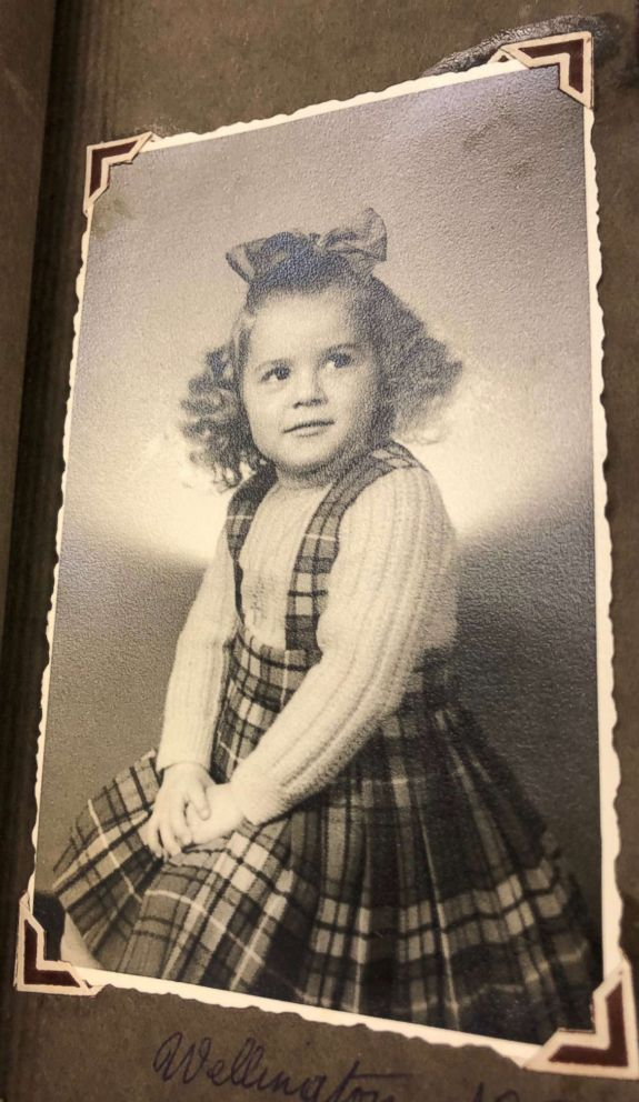 PHOTO: James Longmans mother, Ann Longman, photographed when she was about 6 during a family holiday in Wellington, New Zealand.