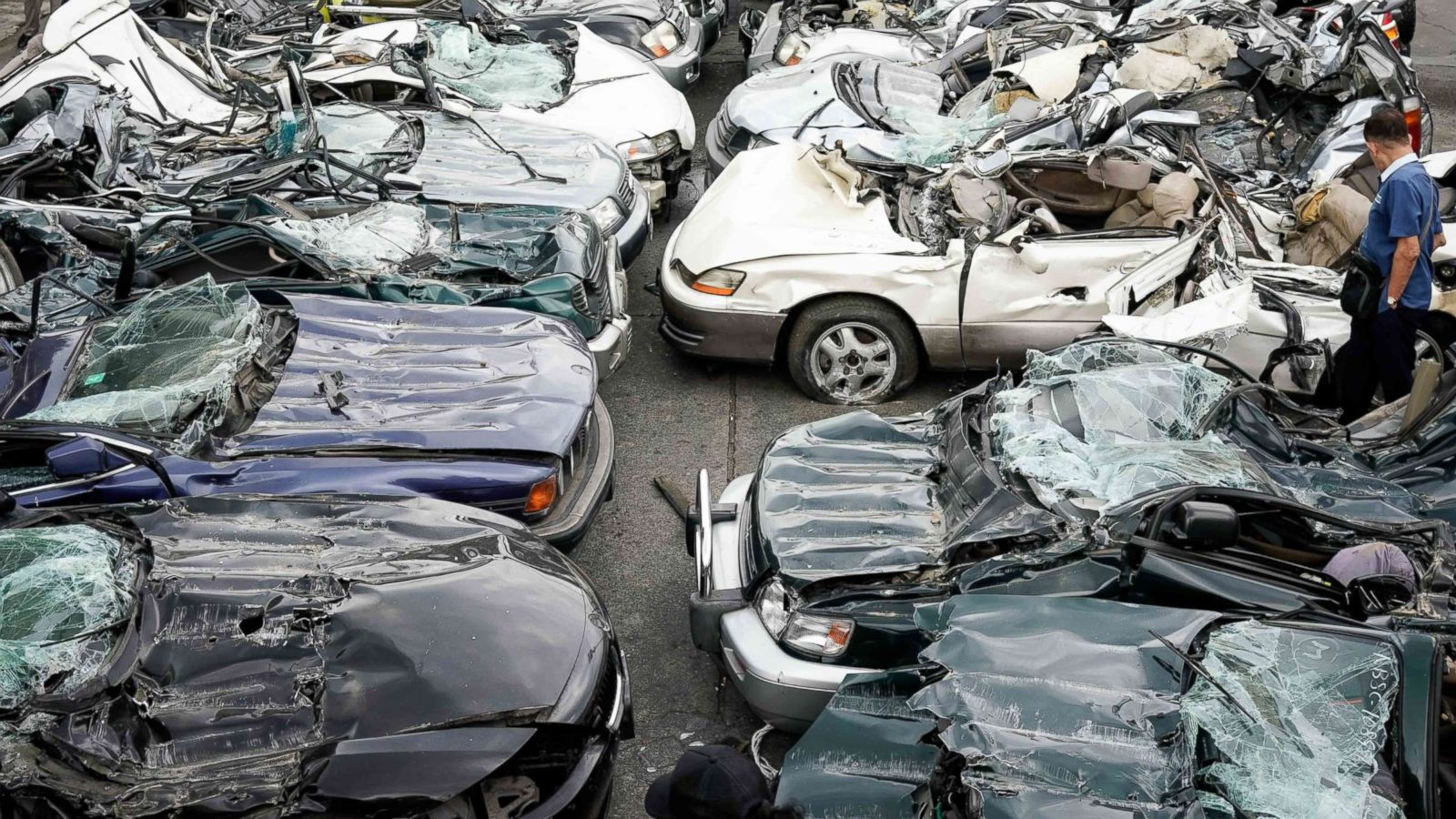 Strongman Rodrigo Duterte Switches Gears To Destroy Luxury Cars In