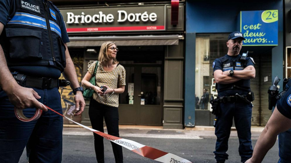 2 arrested over nail bomb that wounded 13 in Lyon, France