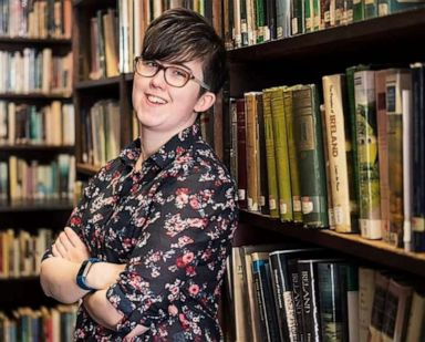 PHOTO: Journalist Lyra McKee is seen in this undated handout picture released April 19, 2019 by the Police Service of Northern Ireland.