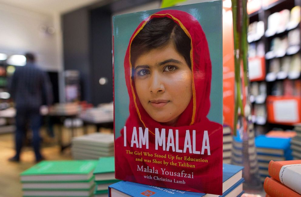 PHOTO: Copies of an autobiography by Pakistani schoolgirl Malala Yousafzai, entitled I am Malala are pictured in a book store in London, Oct. 8, 2013.