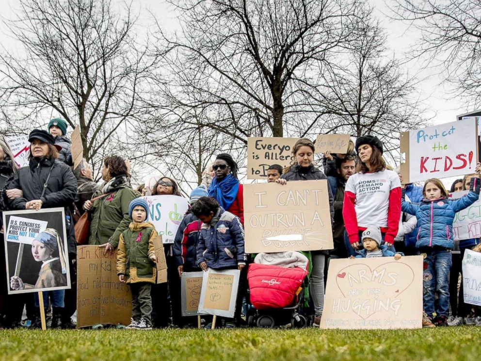 Local March for Our Lives Protesters Ask for Gun Reform