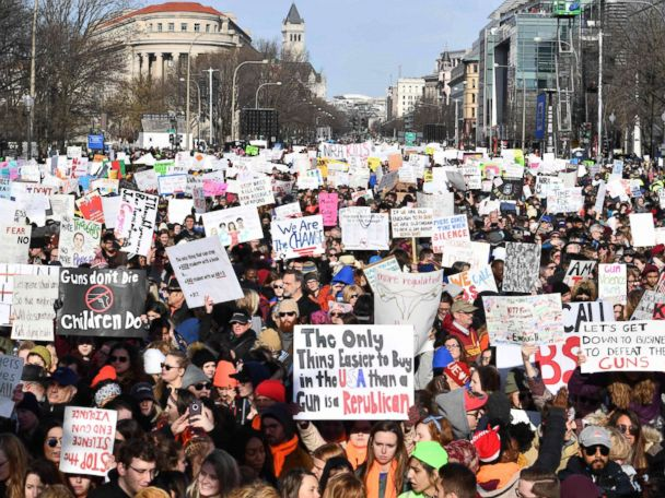 March for Our Lives recap: Survivors lead passionate pleas to end gun violence