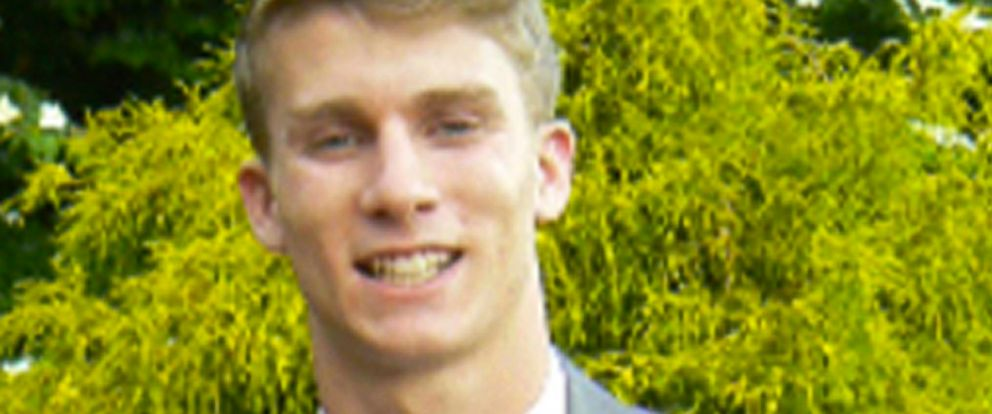 PHOTO: This undated photo released by the Bermuda Police Service shows American college student Mark Dombroski, who has been reported missing in Bermuda.