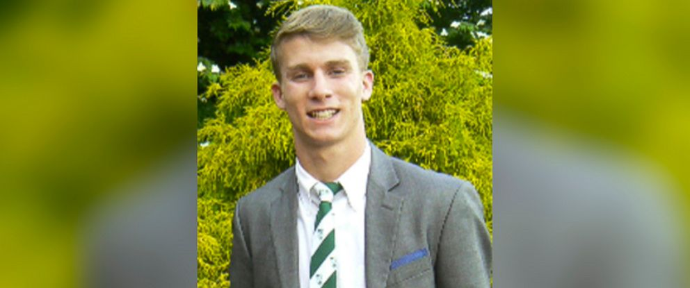 PHOTO: This undated photo released by the Bermuda Police Service shows American college student Mark Dombroski, whose body was found at the base of a 35 ft. cliff in Bermuda, March 19, 2018.