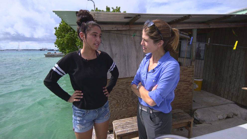 "ABC News' Gloria Riviera speaks with Marshall Islands resident Charlotte Jack, 16. She's part of what's called ""the last generation"" – over half the country's population is under the age of 24."