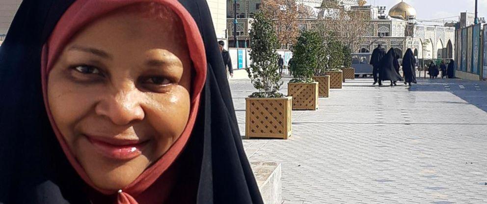 PHOTO: American-born news anchor Marzieh Hashemi.