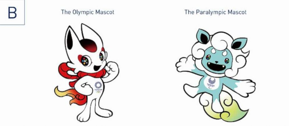 PHOTO: One of the three choices for the Tokyo 2020 Olympic Mascots.