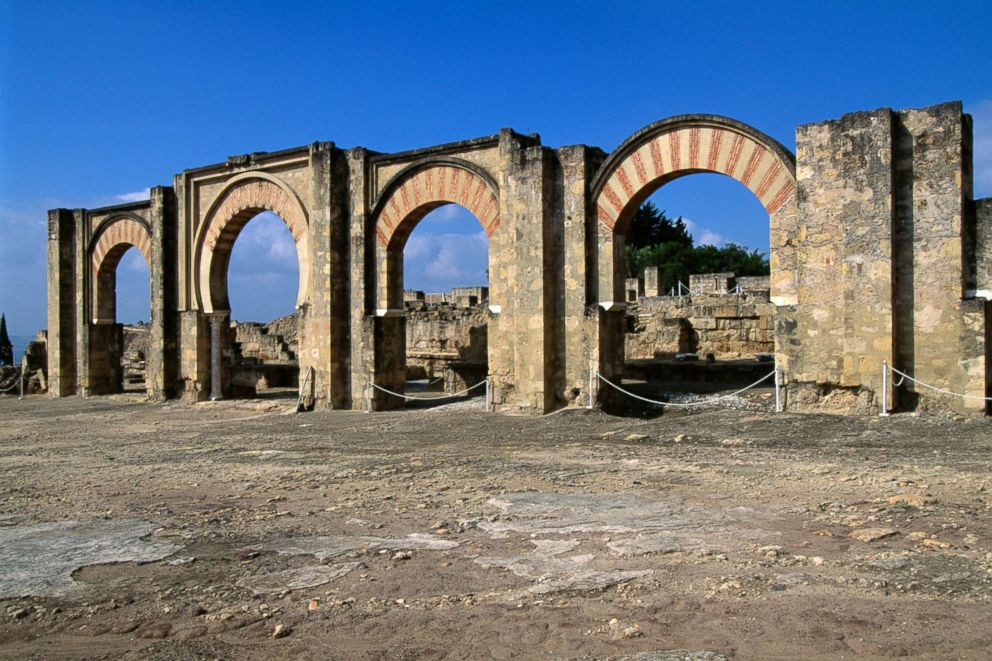 PHOTO: Located on the western outskirts of Cordoba, Spain, is Medina Azahara, represents the urban planning of the 10th century in the Islamic West, the first Umayyad Caliph of Cordoba, Andalusia.