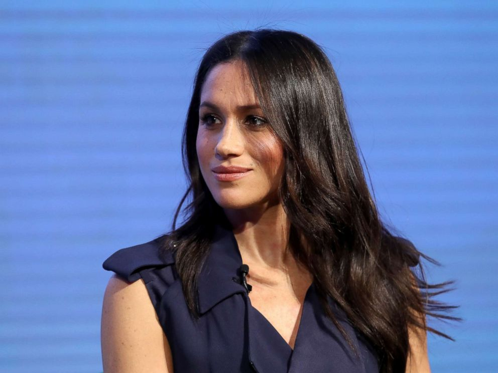 PHOTO: Meghan Markle attends the first annual Royal Foundation Forum held at Aviva, Feb. 28, 2018, in London.
