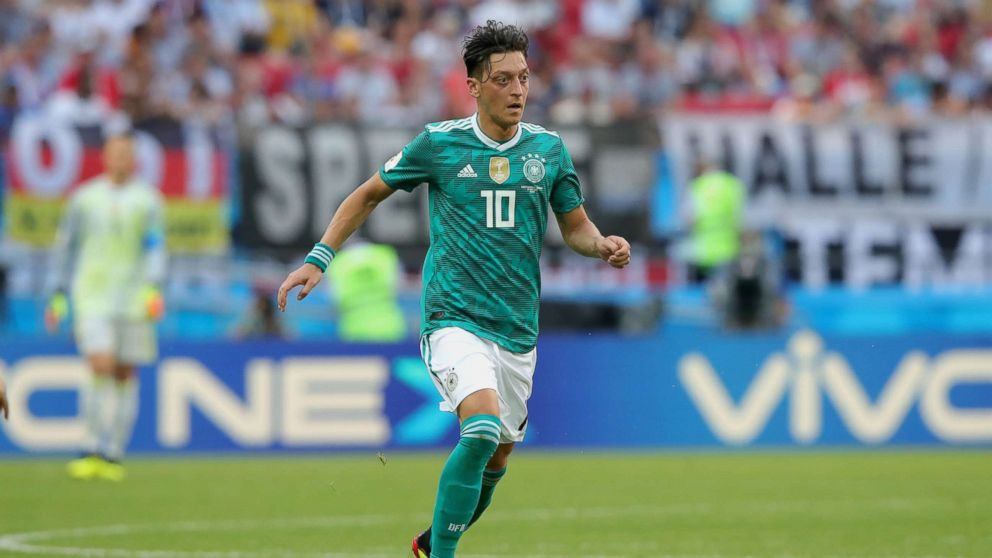 Mesut Oezil of Germany runs with the ball during the 2018 FIFA World Cup  Russia group b1b5cb393