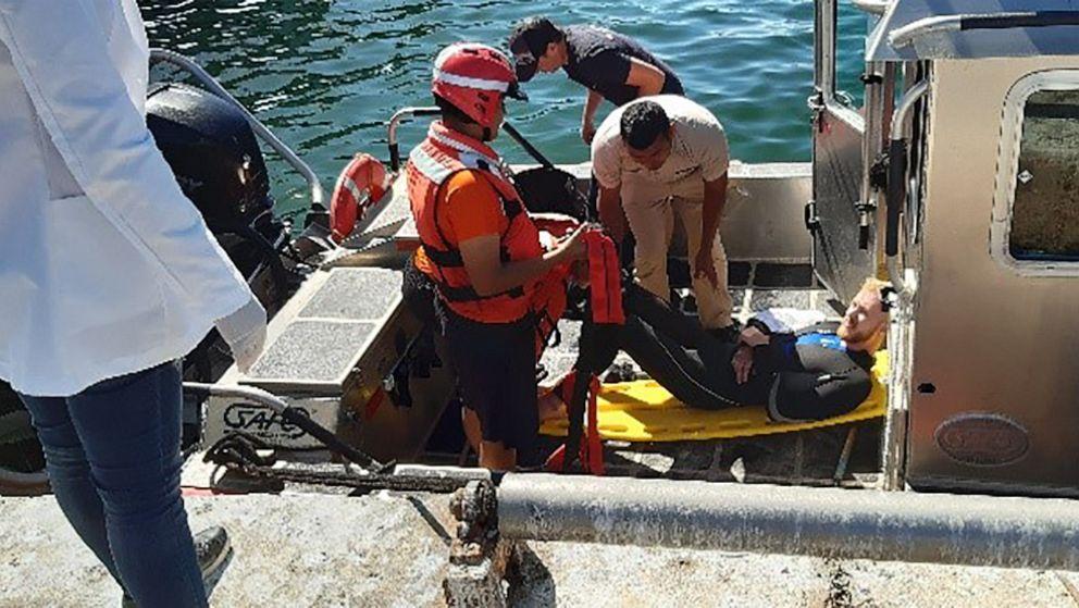 Hai-Attacken amerikanische Taucher vor der Küste von Mexiko, sagen die Beamten