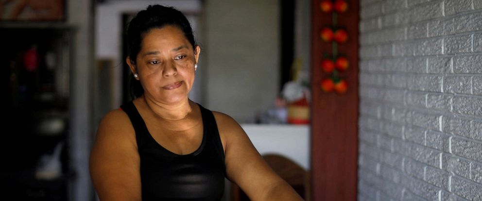 PHOTO:Rosa Ramirez, mother of Oscar Alberto Martinez Ramirez, a migrant who drowned in the Rio Grande River with his daughter Valeria during their journey to the U.S., is pictured at her house in the Altavista in San Martin, El Salvador, June 26, 2019.