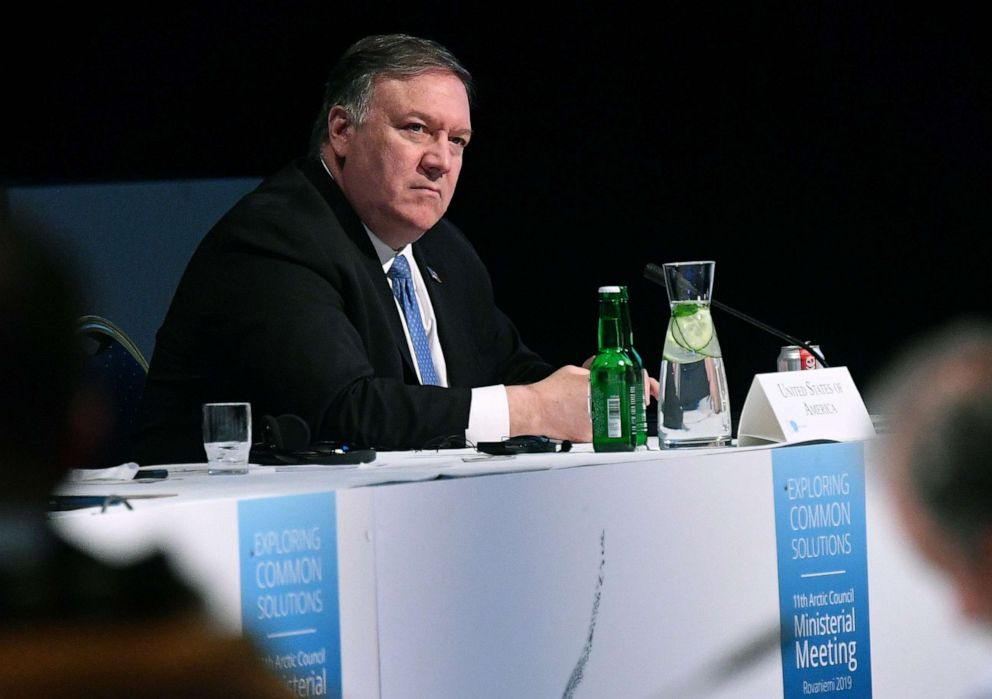 Pompeo in London to discuss the UK-US 'special relationship'