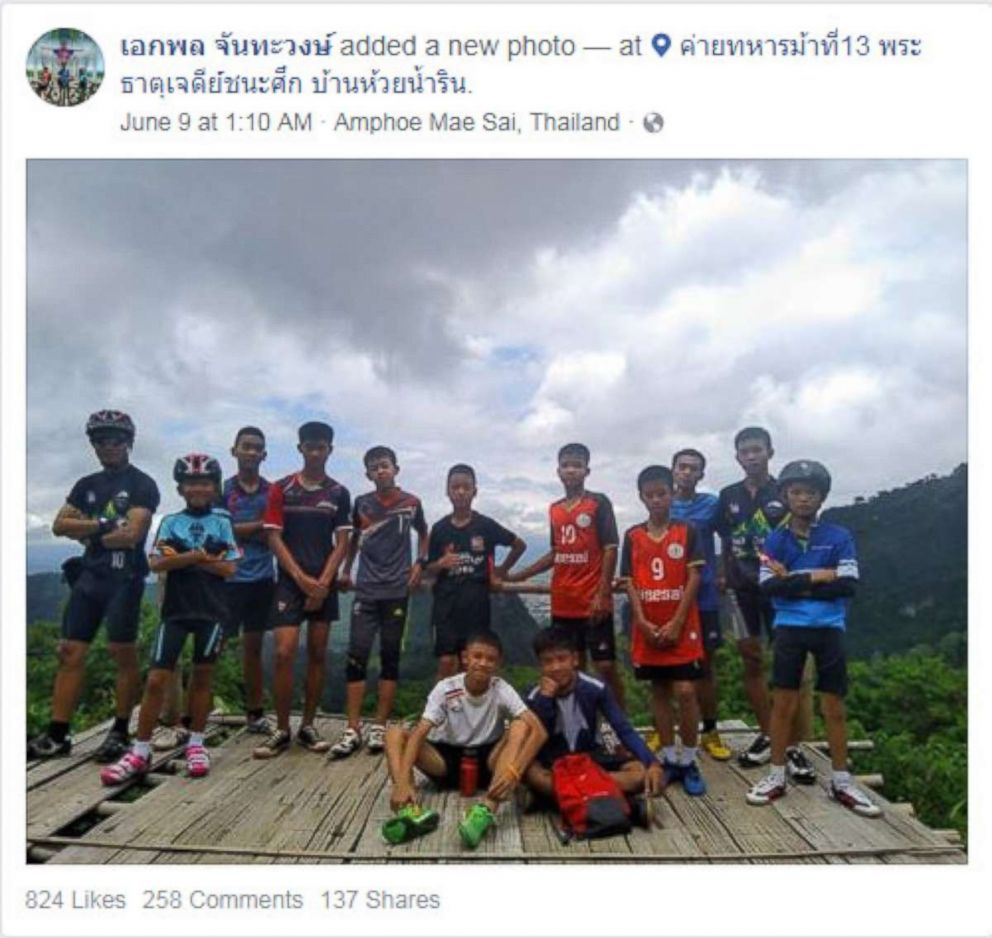 Boys and coach found alive in cave