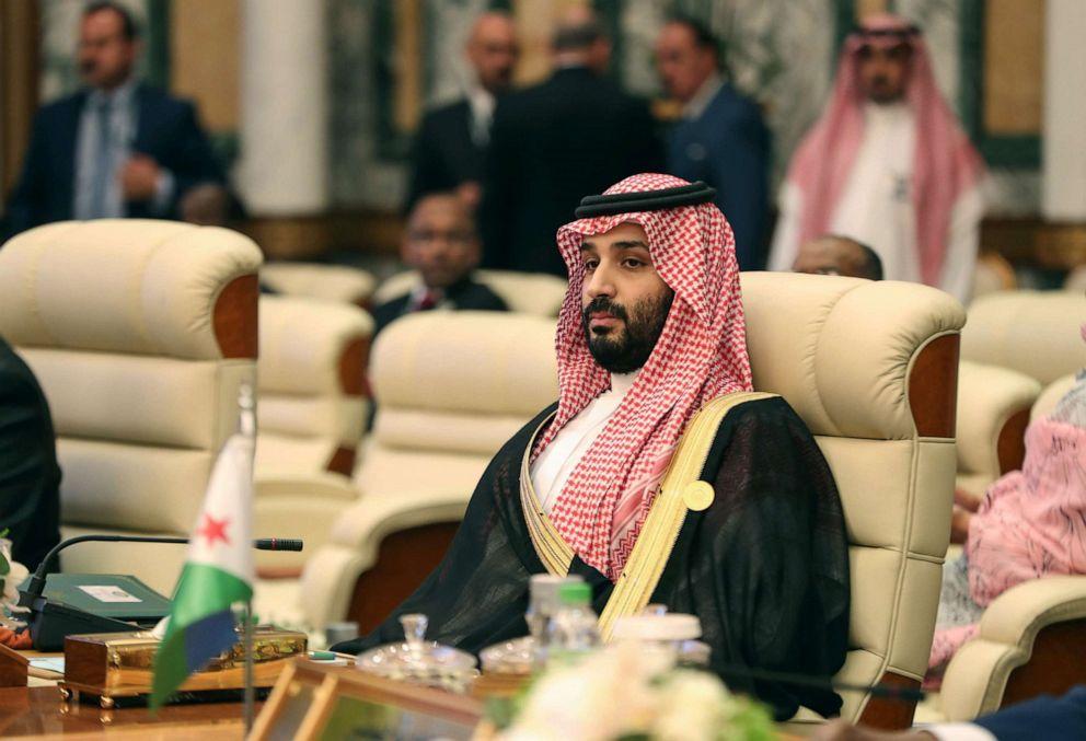 PHOTO: Saudi Crown Prince Mohammed bin Salman attends the extraordinary Arab summit held at al-Safa Royal Palace in Mecca, May 31, 20109.