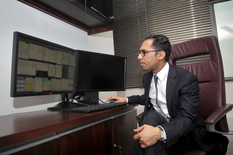 PHOTO: Mohammed Dewji, a Tanzanian business tycoon said to be Africas youngest billionaire, photographed during an interview at his office in Dar es Salaam, Tanzania, April 23, 2015.