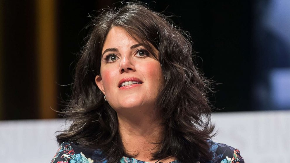 monica lewinsky walks out on live discussion after off limits