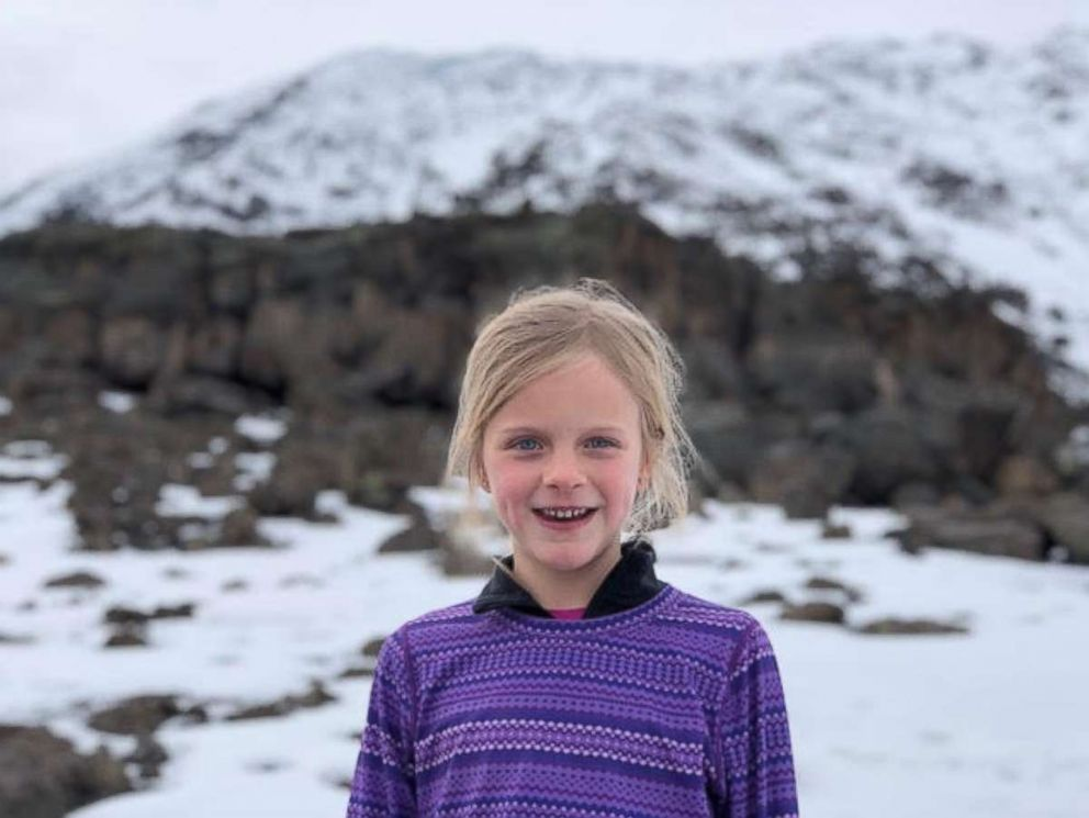PHOTO: Montannah: Montannah Kenney, of Austin, climbed Mount Kilimanjaro at age 7.