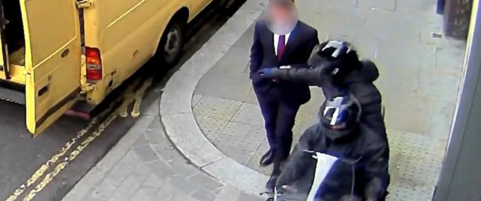 PHOTO: Moped gangs in London are responsible for crime wave in London.