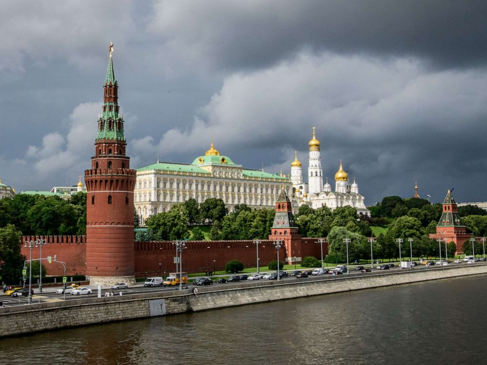 PHOTO: This file photo taken on July 09, 2018 shows the Kremlin in Moscow.