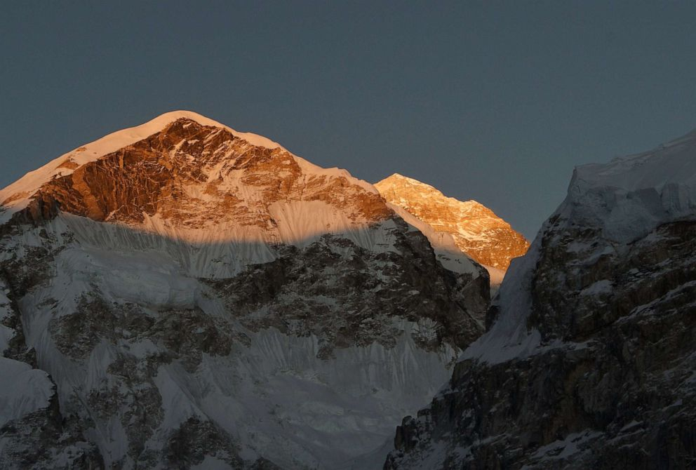 Three Indian climbers die on Nepal's Mount Everest