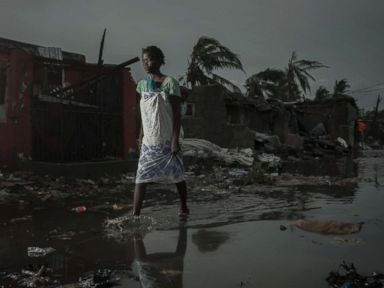 Tropical cyclone leaves parts of Mozambique under water, kills over 200