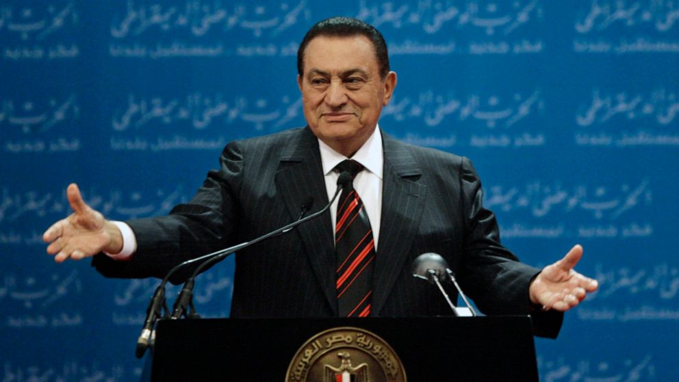 Former president of Egypt Hosni Mubarak dies at 91