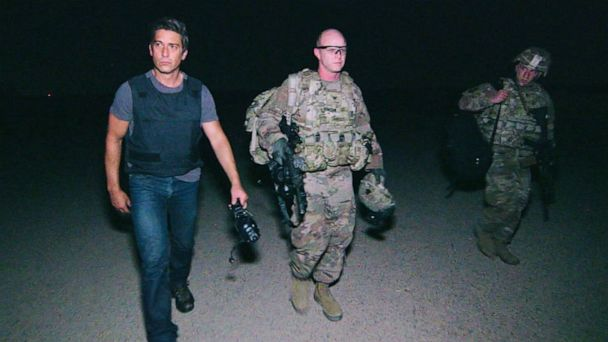 Exclusive: Military leaders tell David Muir there is an 'ISIS insurgency' in Iraq, warn of breeding ground across Syria border