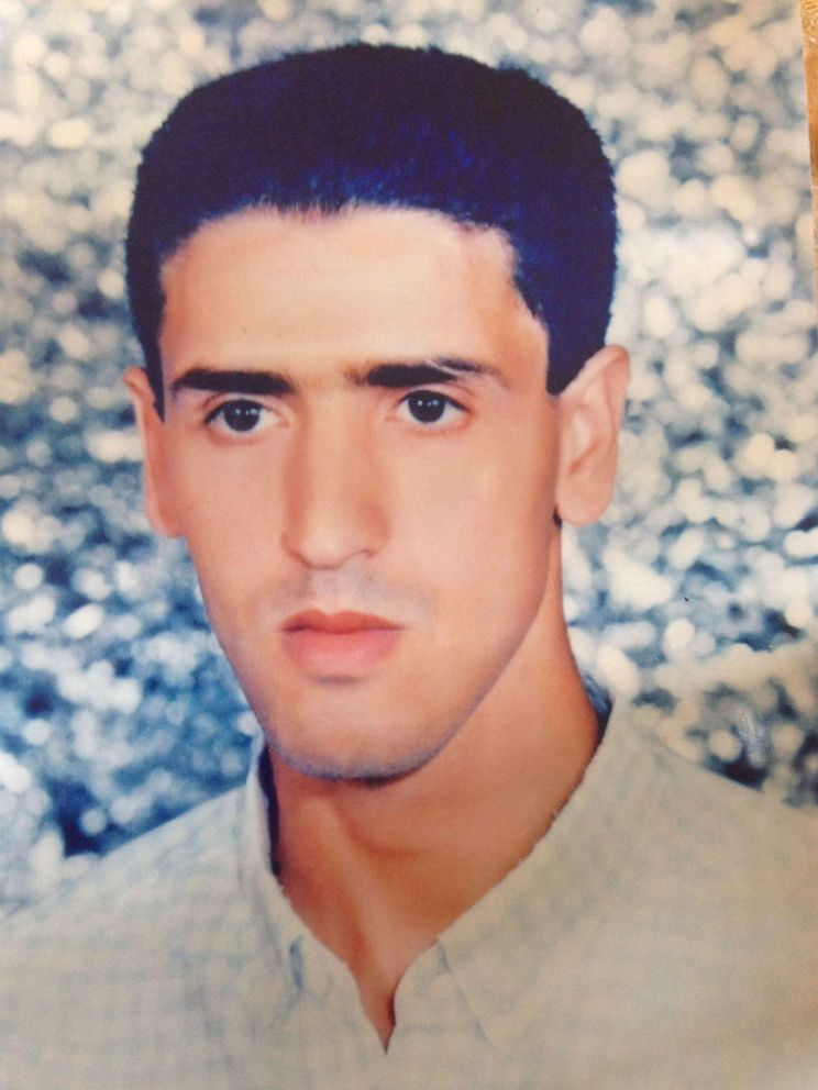 PHOTO: Abdul Latif Nasser, pictured here as a young man, has ambitions to become a maths teacher if he returns to Morocco.