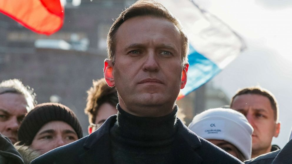 Russian opposition leader Navalny able to leave his bed – ABC News