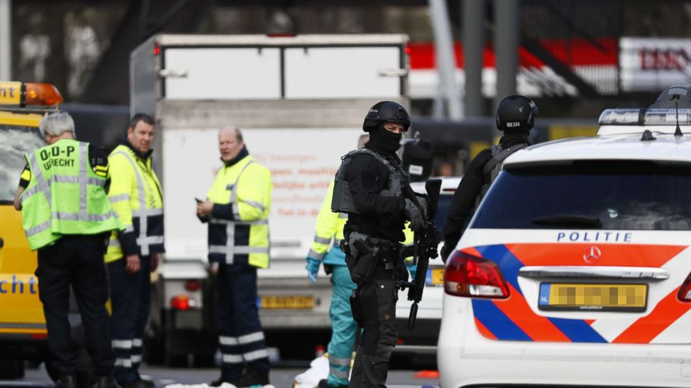 At least 3 dead in shooting on Netherlands tram, suspect arrested thumbnail