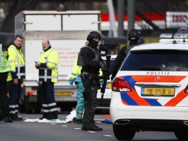 At least 3 dead in shooting on Netherlands tram, suspect arrested