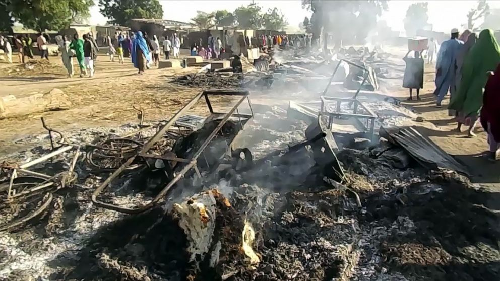 Suspected Boko Haram attack on funeral leaves at least 65 dead in Nigeria thumbnail