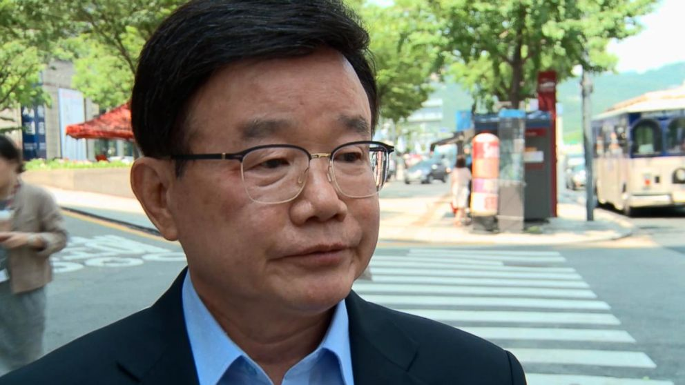 PHOTO: An Chan-il escaped North Korea in the 1970s and became the first defector with a doctorate. He is now director of the World Institute for North Korean Studies.  For some North Korean defectors, Trump-Kim summit offers hope; others don't buy it nk defectors an chan il abc jef 180615 hpEmbed 16x9 992