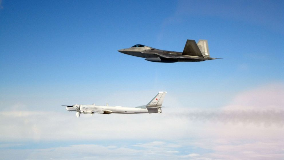 Russian bombers intercepted 8 miles from US airspace thumbnail