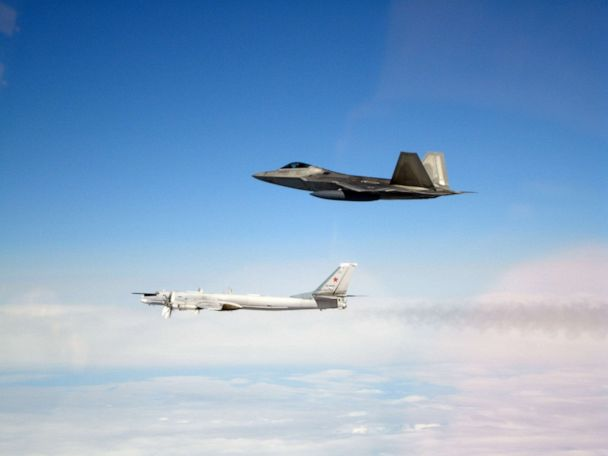 For second day in a row, US military jets intercept Russian bombers off Alaska