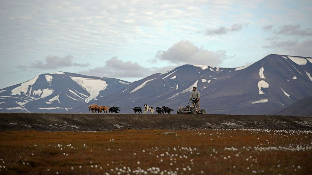 A climate-change frontier in the world's northernmost town - ABC News